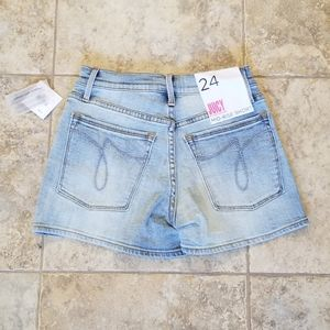 Juicy Couture Shorts - NWT JUICY COUTURE FLOWER & HEART PATCH JEAN SHORTS